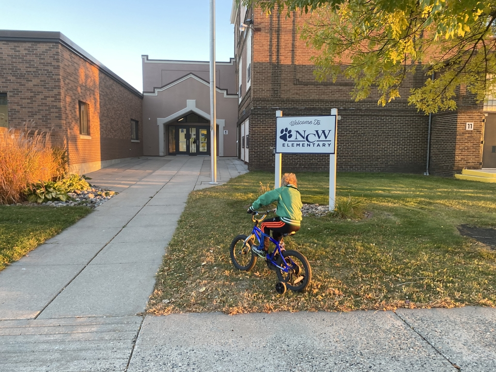 Walk to school or ride your bike day!